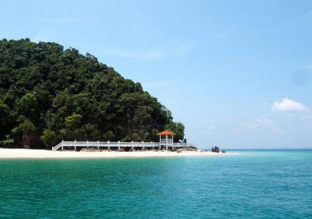 زیباترین جزایر گردشگری،توریستی و دیدنی مالزی (تصاویر)