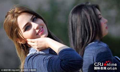 عکس دختران خوشگل عراقی در مسابقه دختر شایسته