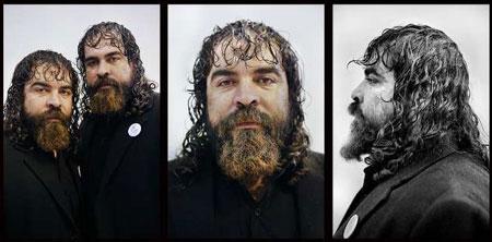 عکس ریش های بلند و جالب که مد شده