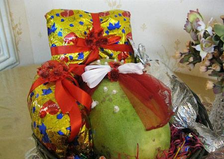ایده های زیبای تزیین و میوه آرایی شب یلدایی (شب چله) عروس