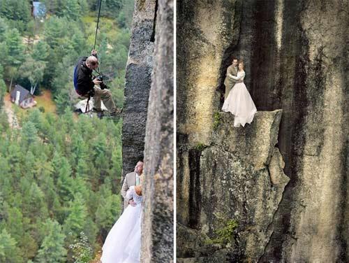 عکس های دیدنی از وحشتناک ترین عروسی های جالب