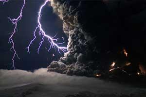 رعد و برق یا آذرخش در ابرها چگونه بوجود می آید ؟