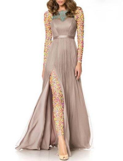 ژورنال زیباترین مدل لباس مجلسی جدید 1395-2016