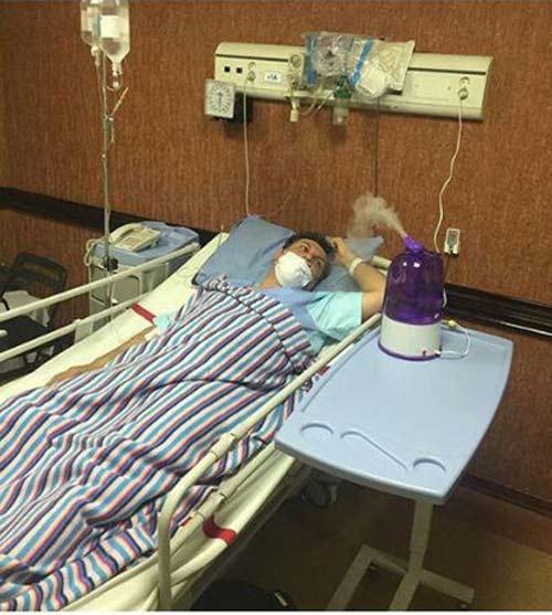 برادر بهنام تشکر به آنفولانزای خوکی مبتلا شد (عکس)