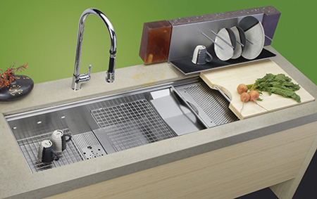عکس شیک ترین مدل سینک های آشپزخانه