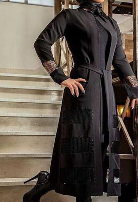 شیک ترین مدل مانتو برای خانم های کمر باریک