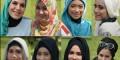 عکس های مراسم انتخاب زیباترین دختر مسلمان جهان
