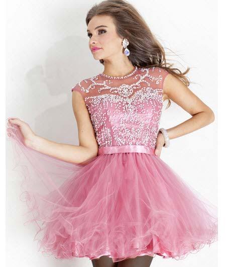 زیباترین مدل های شاد لباس مجلسی دخترانه