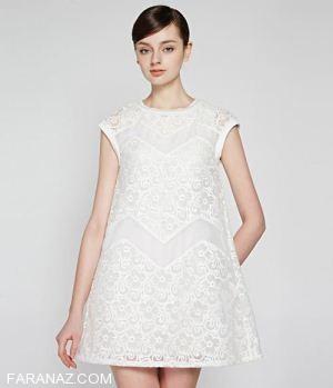 زیباترین مدل لباس خواب عروس ویژه شب زفاف