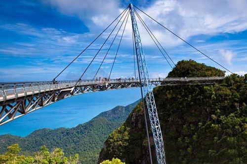 عکس هایی از توریستی ترین پل مالزی