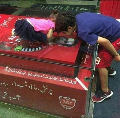 تصویری دلخراش از بچه های هادی نوروزی