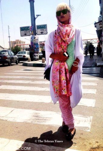 عکس های داغ فشن های خیابانی تهران