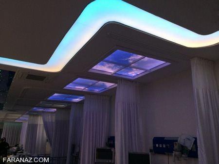 دکوراسیون داخلی با جدیدترین نورپردازی سقف