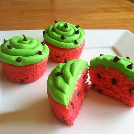 تزئین کاپ کیک های پاییزی