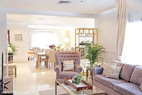 مدل دکوراسیون منزل به سبک کویت