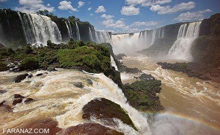 دیدنی ترین مناظر طبیعی جهان (تصاویر)