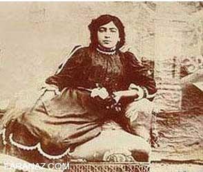 اولین زن بی حجاب ایران (عکس)
