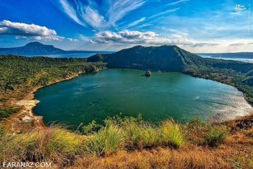 عکس های دیدنی عجیب ترین دریاچه های دنیا