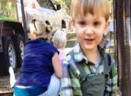 پسر بچه ای که در یک روز 3 بار تا دم مرگ رفت! تصاویر
