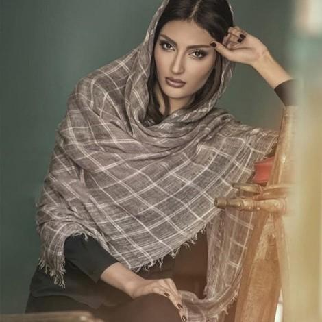 زیباترین مدل های جدید شال و روسری ایرانی 2017
