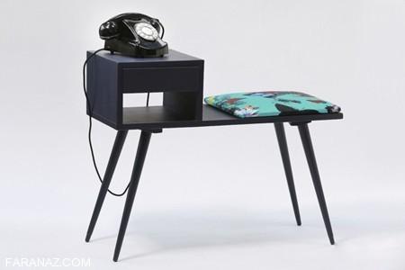 طرح و مدل های میز تلفن 2017