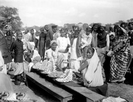 عکس های نایاب از زندگی هندیان دوران استثمار در هند