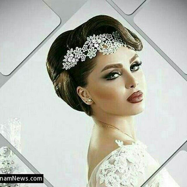 عکس زیباترین مدلهای تاج عروس 2017
