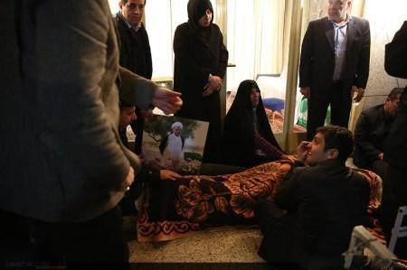 عکس پیکر آیت الله رفسنجانی در اتاق امام خمینی (ره)