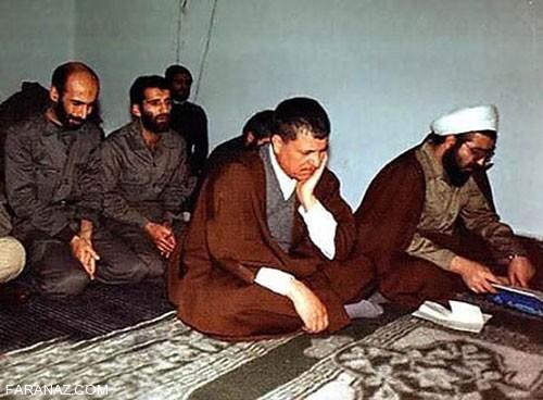 تونل زمان:عکسهایی از دوران جوانی هاشمی رفسنجانی