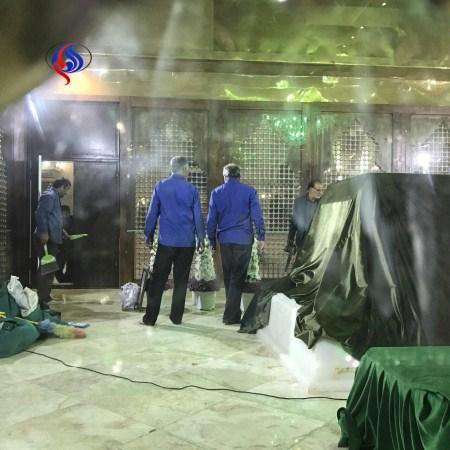 عکسهای نایاب آماده سازی قبر آیت الله هاشمی رفسنجانی