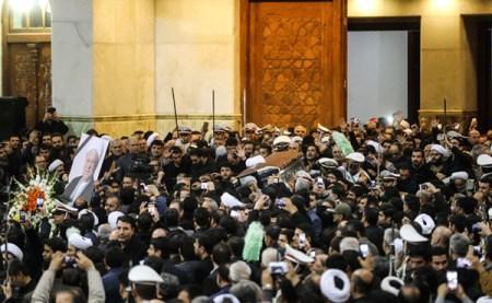 عکسهای مراسم باشکوه خاکسپاری آیت الله هاشمی رفسنجانی
