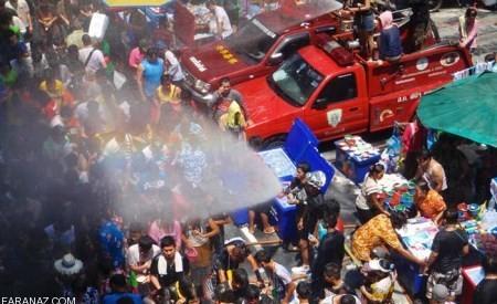 عکس های خفن آب بازی دختر پسرها در تایلند