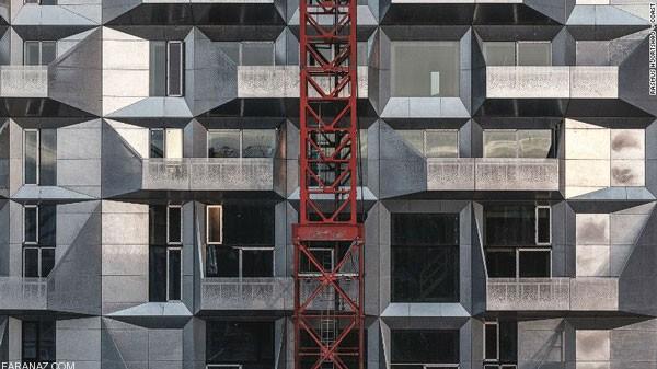تصاویر ساختمان های جدید با سازه های نوین در سال ۲۰۱۷