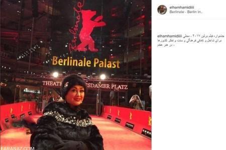 جنجال عکس های بدحجاب الهام حمیدی در آلمان