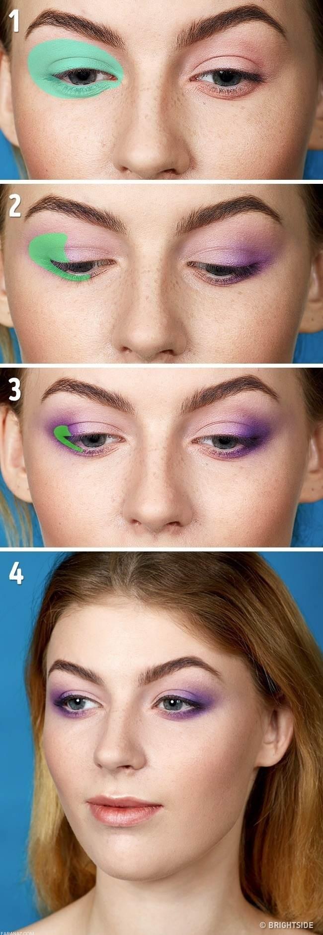 5 تکنیک آرایشی برای ارایش زیبا و خاص چشم ها