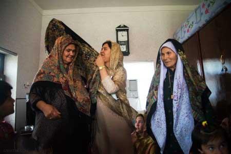 عکس های جالب و دیدنی جشن هفت روزه نوزاد در ترکمنستان