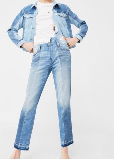 مدل شلوار جین دخترانه و زنانه برند منگو Mango