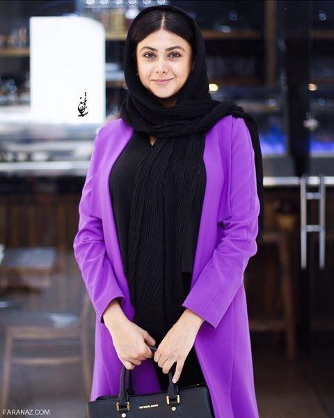 مدل مانتو بازیگران در جشن حافظ