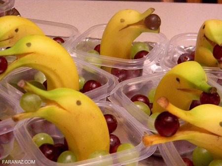 جدیدترین مدلهای میوه آرایی (98) + عکس