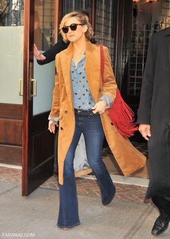 شیک ترین و جدیدترین مدل های شلوار جین زنانه آمریکایی
