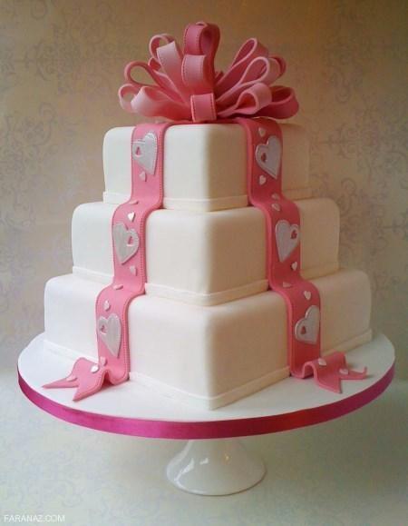 مدل های کیک جشن عقد چند طبقه