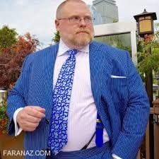 چگونه مردان چاق خوش پوش و خوشتیپ شوند ؟