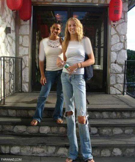 دختر جذاب بلند قد و خوش استیل آمریکایی مدل شد + عکس