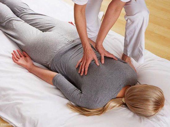 ماساژ حرفه ای اندام جنسی زن توسط مرد در رابطه جنسی زناشویی