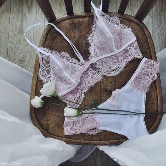 شورت و سوتین و لباس زیر زنانه و دخترانه جذاب و زیبا مخصوص شب زفاف