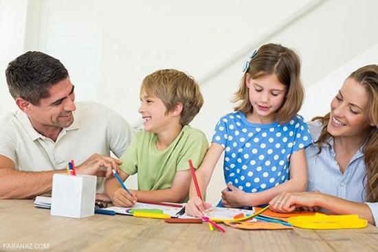پدر و مادران موفق در تربیت فرزندان