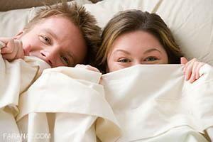لخت خوابیدن زن و شوهر روی هم یا کنار هم چه فوایدی دارد؟