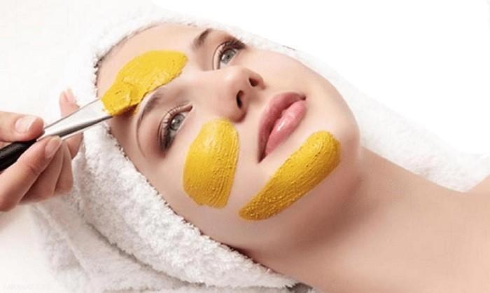 سفید و شفاف کردن پوست با ماسک  زردچوبه