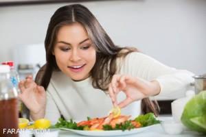 خانم ها باید این نکات را در مورد نوع تغذیه خود بدانند
