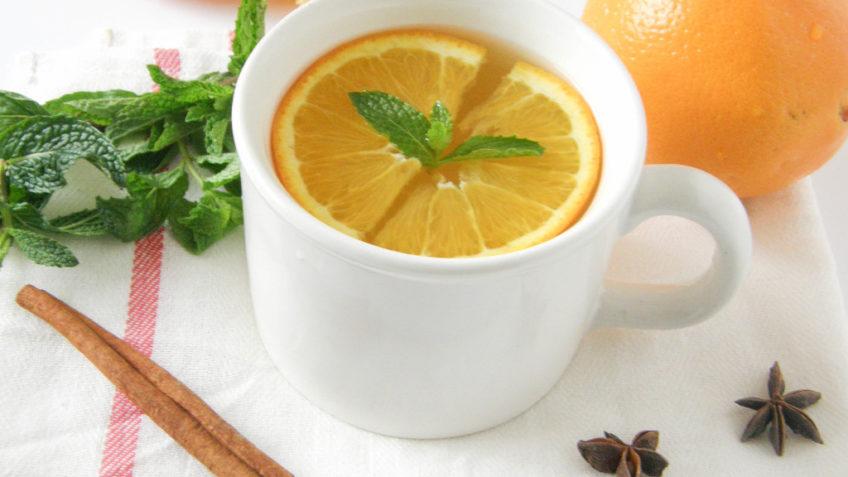 طرز تهیه دمنوش لیمو پرتقال